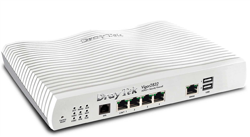 ADSL / VDSL / UFB Router with Firewall and VPN