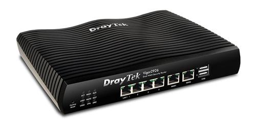 Dual GigE WAN Router/Firewall, IPSec, PPTP, SSL VPN, QoS