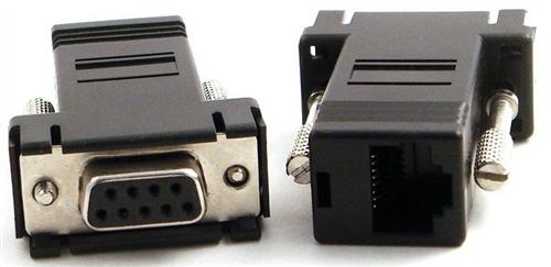 RJ45 to DB9 Female Straight Adapter Cisco Pinout