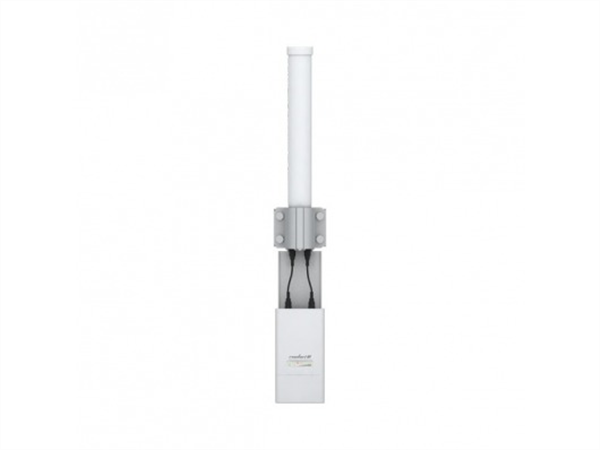 Airmax AMO-5G10 5GHz 10dBi Dual Polarity Omni-Directional Antenna, designed to seamlessly integrate with Rocket M radios