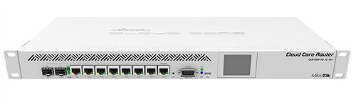 Cloud Core Router 9 Core CPU, 7 x GigE, Combo SFP, SFP+, rackmount