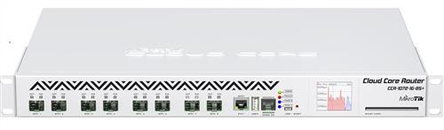 Cloud Core Router, 1 x GigE, 8 x 10G SFP+ ports, Rackmount