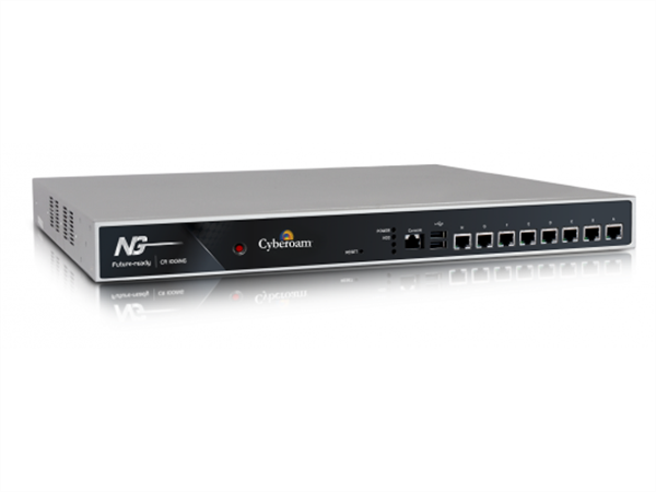 UTM Appliance, VPN Router, 8 x GigE, 8000 Mbps Firewall Throughput