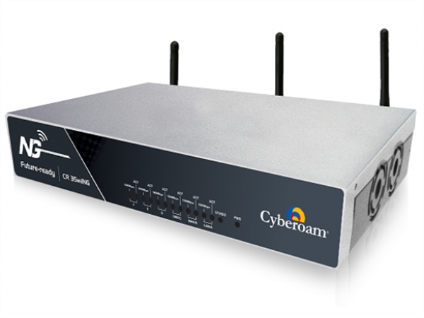 Unified Threat Management Appliance VPN Router, Firewall, 802.11b/g/n, 6 x 10/100/1000 Ethernet ports, 3700 Mbps Firewall Throughput, 300 M
