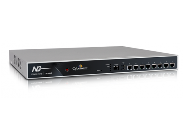 UTM Appliance, VPN Router, Firewall, 8 GigE ports, 6500 Mbps Firewall