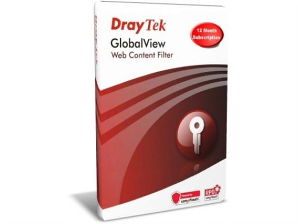 Web Content Filter for Vigor2860, DV2820, DV2832, DV2920, DV3200, 1YR