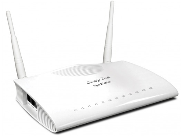 VDSL WiFi Router (supports ADSL), Firewall, QoS, VPN, 2x ATA (VoIP)