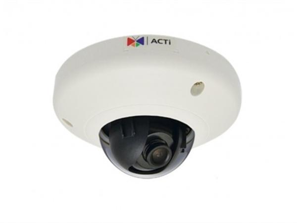2MP Indoor Mini Dome Camera, WDR, SLLS, DNR, MicroSDHC/MicroSDXC, PoE, IK08