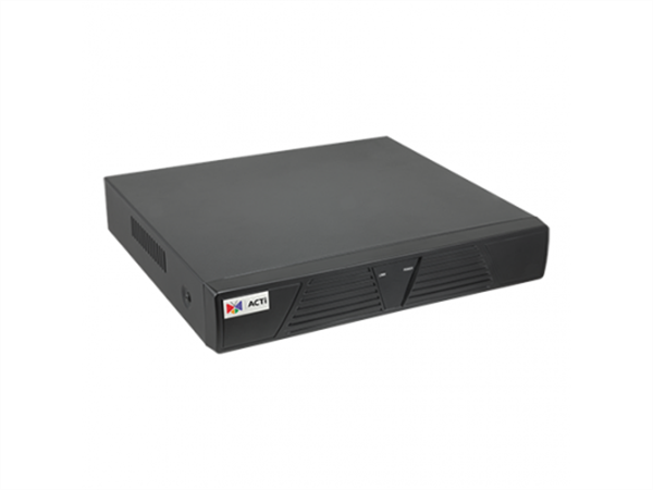 9 Camera NVR with 8-port PoE switch, HDMI Out, 1 HDD Bay