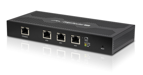 EdgeMAX EdgeRouter with 3x Gigabit Ethernet Ports