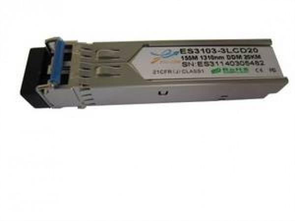 100Mbps Bi-directional SFP module, TX1550/RX1310nm, Single-mode, LC connector