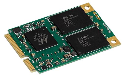 mSATA cache module, 128GB x2