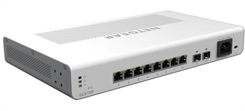 8-Port Gigabit Ethernet PoE+ High-Power Insight Managed Cloud Switch