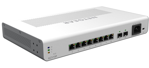 8-Port Gigabit Ethernet PoE+ Insight Managed Cloud Switch