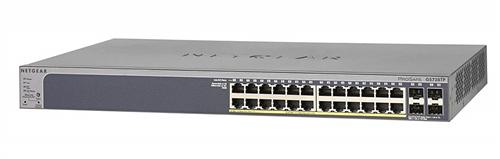 24-port Gigabit Smart PoE Switch, 802.3af and 802.3at (PoE+), 192W