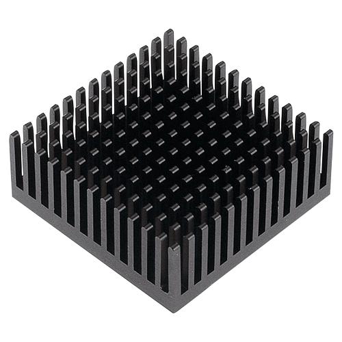 Heatsink for M.2 SSD module,14x14MM, Black, self adhesive, 8 units