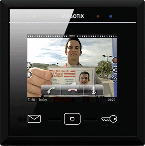 Touchscreen Display for Mobotix Door Station System, Black