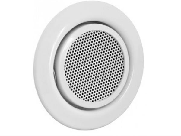 SpeakerMount, loudspeaker with installation frame, 20 degree tilt angle, white
