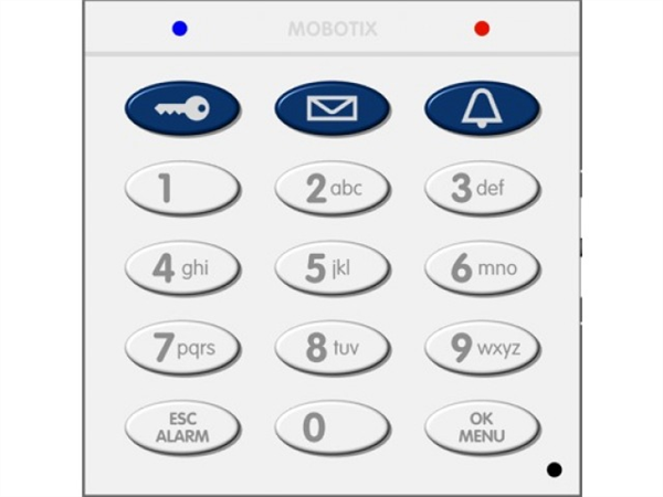 Keypad for T25 and T26 System, with RFID Technology, White