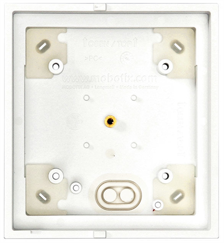 Single On-Wall-Housing for T25 Door Station or MX-Display, White