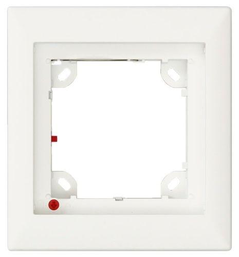 Single Frame for Mobotix T25 Door Station, White