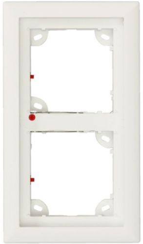 Double Frame, White