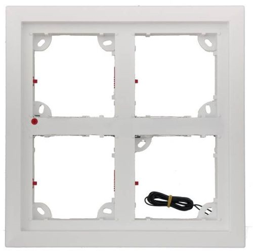Quad Frame, White