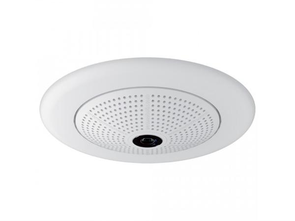 Indoor/Outdoor 6 Megapixel Hemispheric (180 degree) IP Camera