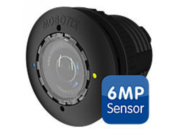 S15D/M15D Sensor with HD premium lens, f/1.8, 103 degree, 6MP, IP66, Black Mx-O-SMA-S-6D036-b