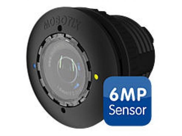 S15D/M15D Sensor with HD premium lens, f/1.8, 90 degree, 6MP, IP66, Black