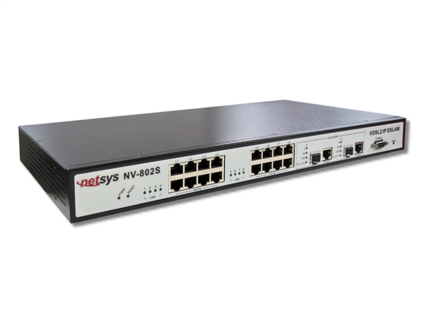 8-port VDSL2 Managed Switch