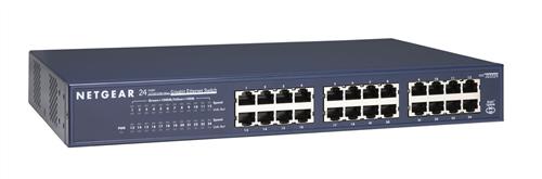 ProSAFE 24-port Gigabit Rackmount Switch