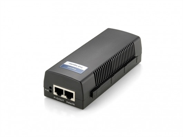 Power over Ethernet Injector, PoE+, 30W, 802.3af/at, 10/100/1000Mbps
