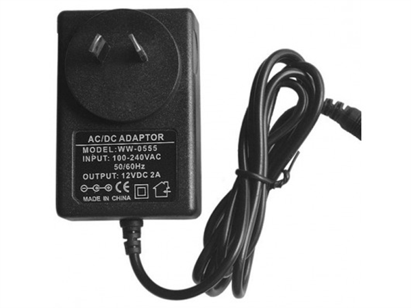 12V DC, 2A wall plug power adapter for general use