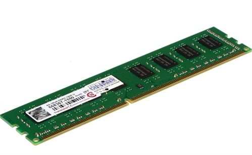 8GB DDR3 RAM, 1600 MHz, long-DIMM