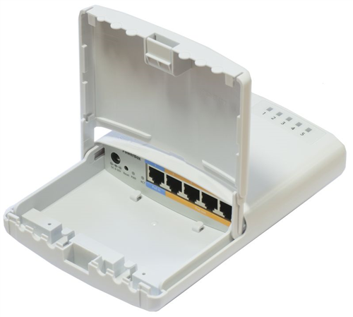 PowerBox Outdoor Router Switch, PoE Switch (PoE in, PoE out)