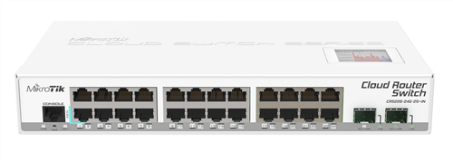 24-Port Gigabit Ethernet Layer 3 Switch, 2x SFP port, LCD Screen