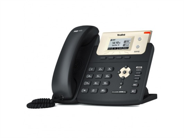 IP phone, Dual Ethernet, LCD Screen, PoE, (AC Adapter Optional)