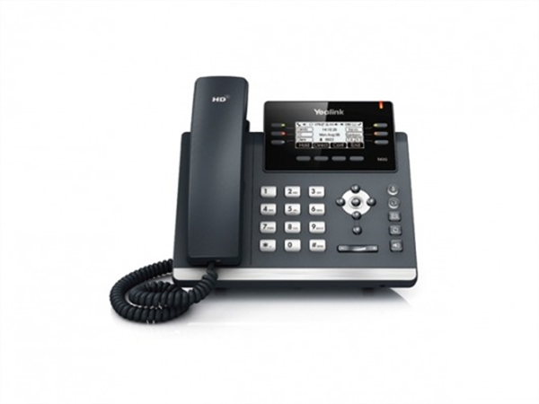IP phone, Dual Ethernet, 2.7in. 192x64 pixel graphical LCD with backlight, PoE, (AC Adapter optional)