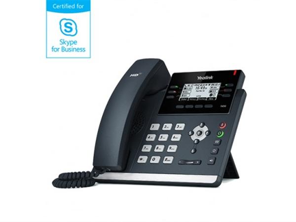 SFB phone, Dual Gigabit Ethernet, 2.7in. LCD, PoE