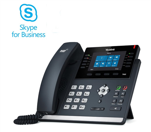 Skype for Business Edition IP Phone, SIP-T46S