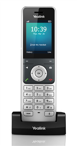 DECT Phone for use with SIP-W56P SIP Base Station