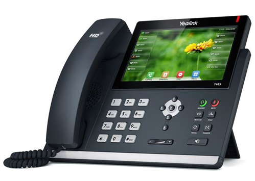 IP Phone, Dual Gig. Ethernet, Touch Screen, PoE (AC Adapter optional)