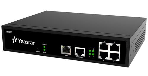 VoIP Gateway, 4 BRI ports