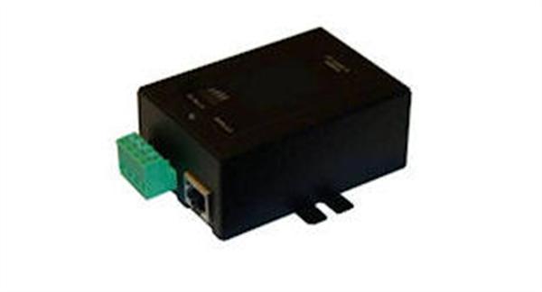 Gigabit PoE Injector, 48VDC 802.3af Out, 9-36V DC Input, Metal Case