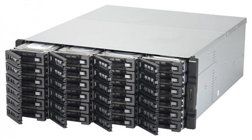 24-Bay NAS, Xeon E3-1200 v3 family, 4GB ECC RAM