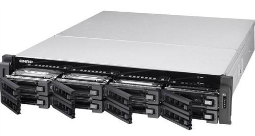 8-Bay Rackmount NAS, Xeon E3-1200 v3 family, 4GB ECC RAM