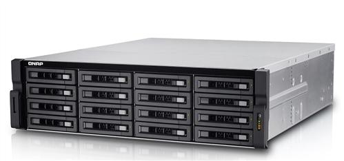 16-Bay TurboNAS, SAS 12G, SAS/SATA 6G, Xeon E3-1246 v2 3.5GHz, 8GB ECC RAM