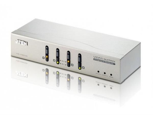 2x4 VGA Video Matrix, With Audio Support