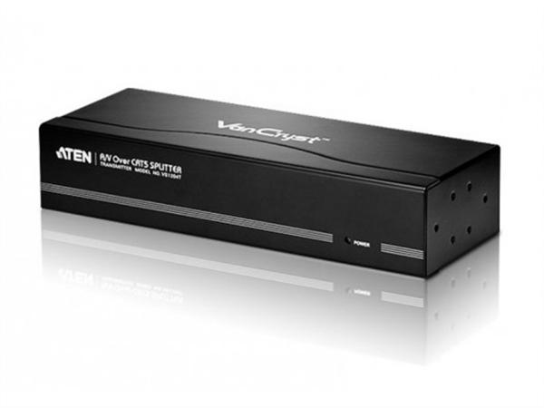 4-port VGA / Audio Splitter and Cat5 Extender